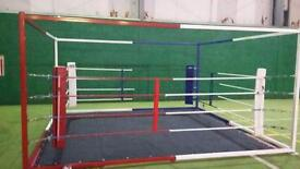 Boxing Muay Thai MMA ring