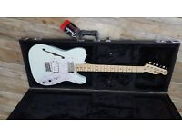 Fender Telecaster Thinline Surf Green Ex condition c/wGig bag or Pro Case