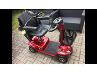 Invocare leo mobility scooter 2000 as new mid size 4 wheel long range