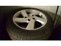 alloy wheels for mazda 2004 set of four good condition