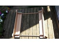 wooden sand pit cover