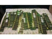Large selection of ddr desktop memory. All different types