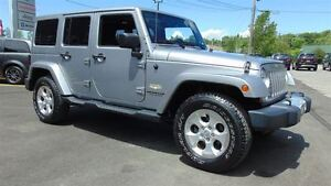 2014 Jeep WRANGLER UNLIMITED SAHARA - 4 DOOR