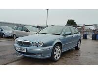 54 plate jaguar x type estate 2.0 diesel 12 months mot genuine low mileage