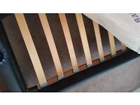 Excellent Condition King Size Leather Bed Frame