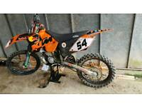 KTM 250 SX Two stroke not cr kx yz