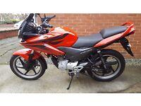 Honda cbf125 2011 in vgc excellent runner long mot new bike forces sale bargain £995 ono