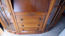 1800s side by side bureau bookcase