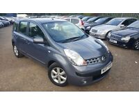 Nissan Note 1.4 16v SE 5dr, FSH, GENUINE LOW MILEAGE, HPI CLEAR, RELIABLE CAR,LONG MOT, MUST SEE