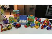 LARGE TOY BUNDLE MUSICAL & LIGHT UP FISHER PRICE, ELC & TOMY
