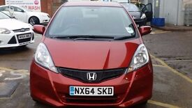 Honda Jazz- Manual- 2014- Low Mileage- Full Service History- New Stock- only 1 owner
