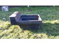 Horse/Cattle JFC single water trough.