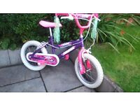 Children's Cycles for sale. 2x Boys and 1x Girls