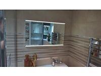 EX Display LED Mirror (steam free) 800w x470h