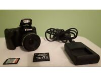 Canon powershot SX430 IS camera and 16 gb sd card