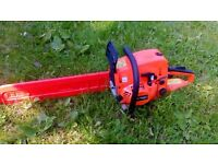 brand new chain saw, never been used or started