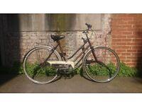 Women's vintage Puch Elegance town bike