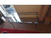 glass coffee table ex cond 3 feet long 18 inch width 26 inch high £15 cheep!!!