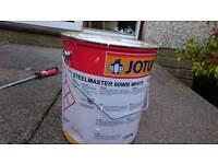 2.5 litres intumescent / fire resistance paint