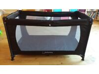 Barely used travel cot bed. Excellent condition