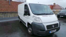 FIAT DUCATO MULTI JET 2.2 MWB YEAR 2008 LONG MOT READY TO WORK QUICK SALE