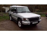 2004 land rover discovery td5 7 seater