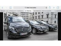 RENT,HIRE PCO CARS BRAND NEW FLEET OF E CLASS MERCEDES BENZ & HYBRID TOYOTA PRIUS