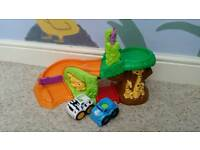 Fisher Price musical roll cars and ramp