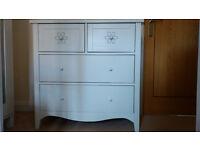 Next Gracie 4 drawer chest x 2