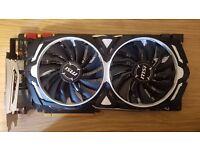 MSI GeForce GTX 1080 ARMOR 8G Graphics Card