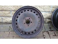 "Ford Focus (MK2) / Mondeo Full Size Spare 16"" Steel Wheel X 2 - For winter tyres ?"