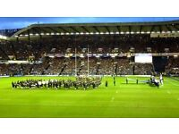 Scotland vs England RBS 6 Nations 2018 Rugby Ticket Murrayfield