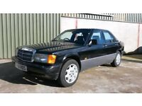 1990 Mercedes 190E 2.0 Petrol (Manual gearbox)