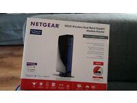 netgear N600 wirleless dual band gigabit modem router