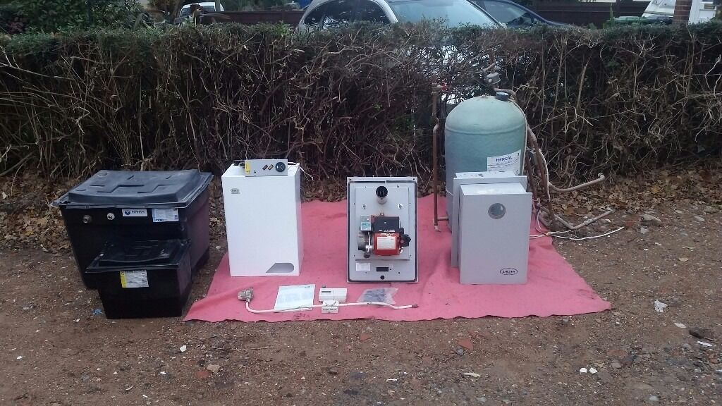 Hrm Wallstar Oil Boiler And Complete Heating System In