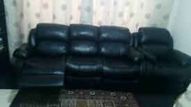 6 Black Sofas