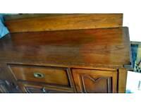 Very old oak sideboard