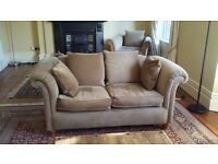 Two seater chesterfield style sofa