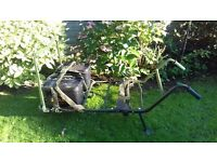 Fox low rider Carp fishing barrow with 2 buckets and straps