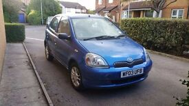 Toyato Yaris 2003 reduced to 650 for quick sale