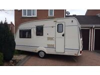 Bailey 4 berth ranger 2000 light tow 850 Kgs
