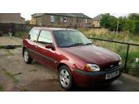 Ford Fiesta 1.2 with long mot