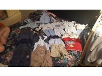 Boy clothes newborn and 0-3 month