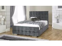 **FREE UK DELIVERY** Nevada Luxury Fabric Ottoman Storage Bed -BRAND NEW!
