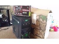 Killer Gaming PC, Intel vPro i5 3.3Ghz, 8GB DDR3 RAM, Brand New GeForce GTX1050 2GB and Gaming Case!