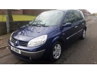05 RENAULT SCENIC DYNAMIQUE 16V 1.6 PETROL MPV EXCELLENT CONDITION