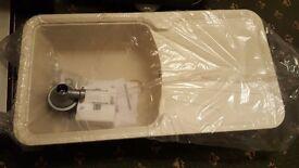 1 Bowl Composite Sink Cream £100 ONO