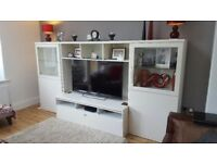 Ikea TV unit and cabinets