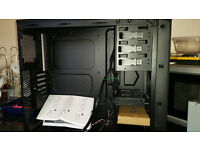 corsaire gaming case never been used includes 2 fans and fittings and instructions