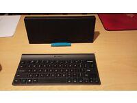 Logitech wireless bluetooth keyboard. Almost unused.